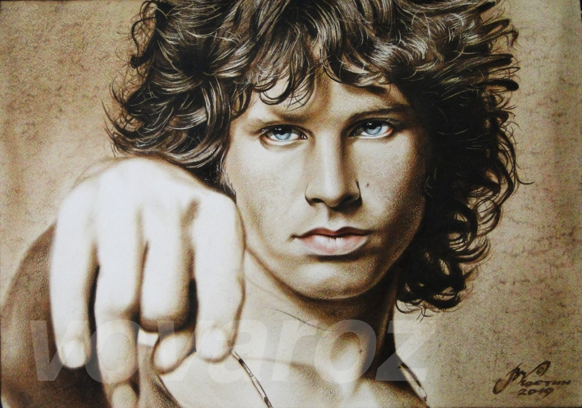 Jim Morrison by vovaroz